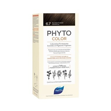 PHYTO Phyto Phytocolor 6.7 Dark Chestnut Blonde Kahve